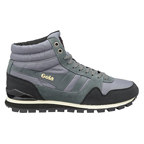 Gola Classics Men's Ridgerunner High II Grey/Black 11 M
