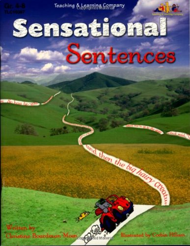 Sensational Sentences: With six write-on, wipe-off sentence strips