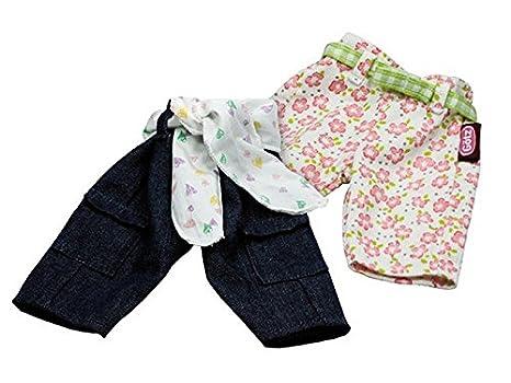 Gotz 3401733 Pantalon basic design, 2x, pour bebe poupee 30 - 33 cm