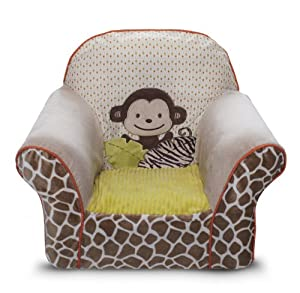 Carter's Wild Life Chair Slip Cover (Discontinued by Manufacturer)