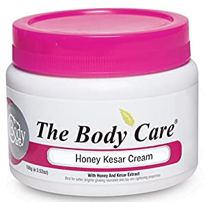 The Body Care Honey Kesar Cream for Brighter and Glowing Skin
