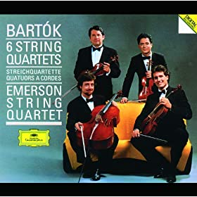 B�la Bart�k: String Quartet No.1, Sz. 40 (Op.7) - 2. Allegretto