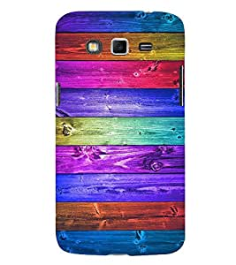Multi Colour Wooden pattern 3D Hard Polycarbonate Designer Back Case Cover for Samsung Galaxy Grand 2 :: Samsung Galaxy Grand 2 G7105 :: Samsung Galaxy Grand 2 G7102