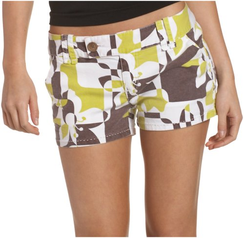 Roxy Juniors' Samba Plaid Short