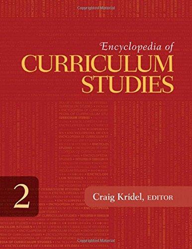 Encyclopedia of Curriculum Studies
