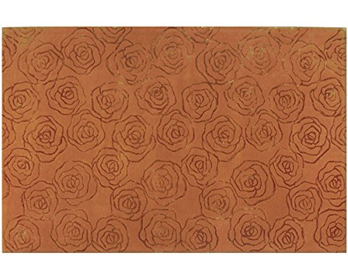 The Rug Market Rosettes Area Rug  Size 5'x8'
