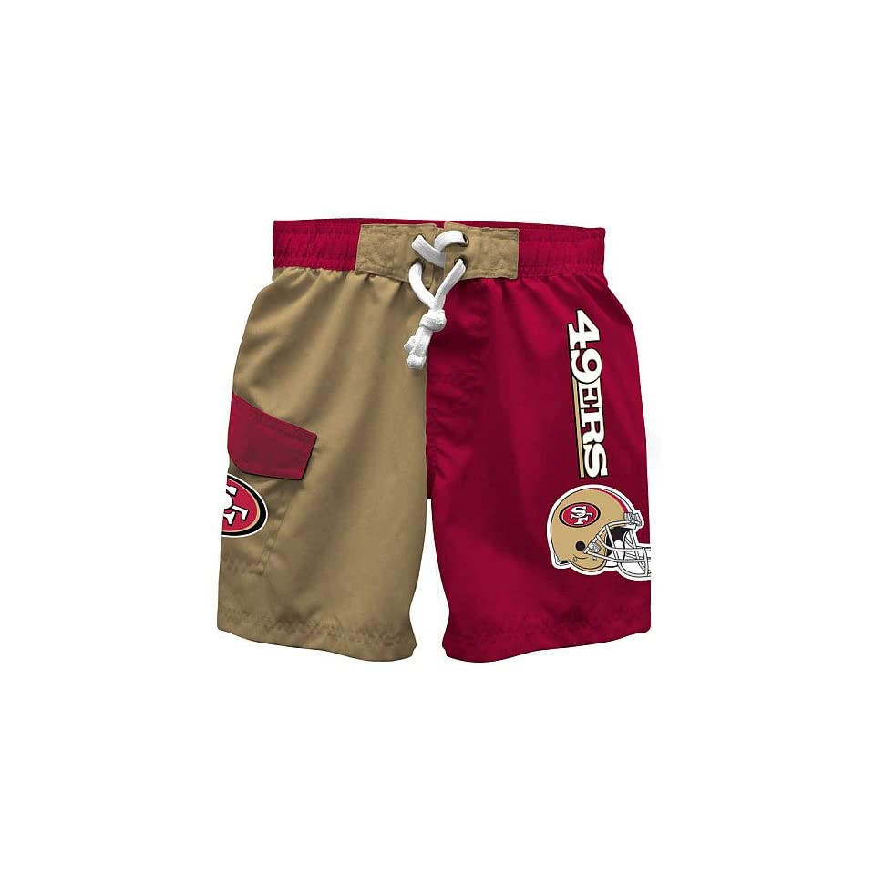 NFL San Francisco 49ers Boys Licensed Swim Trunk