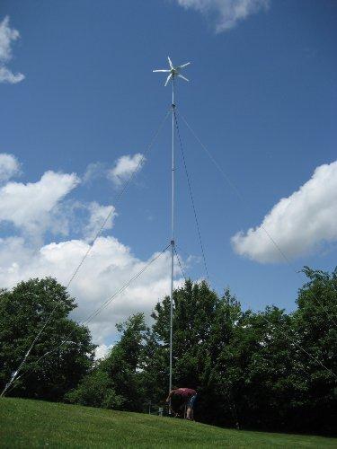 Home Wind Turbine Generator 5-Blade 500W Max/12V - Low Wind Model