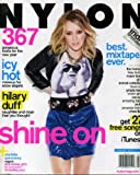 Nylon January 2010 Hilary Duff on Cover, Indie Spotlight - Best Mixtape Ever, Charlotte Gainsbourg, 367 Gorgeous Looks