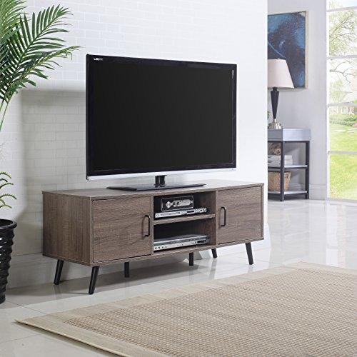 Mid Century Modern TV Stand (Ash)