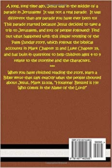 Jesus and the Big Parade:  The Palm Sunday Story (Bible Stories for Kids) (Volume 14)Paperback– Large Print, April 1, 2014