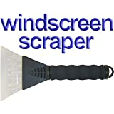 Windscreen Ice Scraper Soft Grip Window Car Snowby Speedwellstar