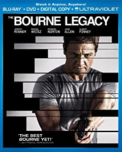 The Bourne Legacy Two-disc Combo Pack Blu-ray Dvd Digital Copy Ultraviolet from Universal