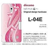 docomo Optimus G Pro L-04E ケース Optimus G Pro L-04E カバー ケース・ジャケット【ハート145/l04e-PM145】