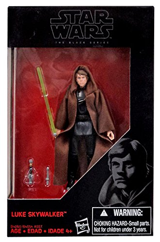 Star Wars, 2015 The Black Series, Luke Skywalker [Return of the Jedi] Exclusive Action Figure, 3.75 Inches