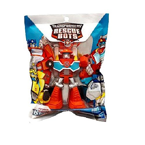 Playskool Heroes, Transformers Rescue Bots Figure, Heatwave the Fire-Bot, 3.5 Inches