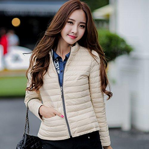 WJP donne ultra leggero rivestimento Packable gi? Outwear tampone piumino W-658