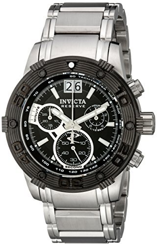 invicta-mens-10591-ocean-reef-reserve-chronograph-black-dial-stainless-steel-watch