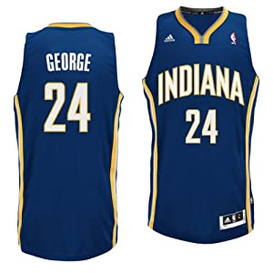 Indiana Pacers NBA Paul George #24 Youth Swingman Jersey M by Genuine Stuff