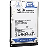 Western Digital Scorpio Blue 500GB Sata 8MB Cache 2.5 Inch Internal Hard Drive OEM - Sony Playstation PS3 Compatible