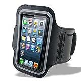 [Present-web] Apple iPhone5 / 5s 対応 スポーツ アームバンド ブラック