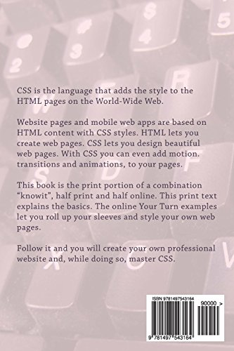 Pro CSS: CSS 1, CSS 2.1 and CSS 3: Volume 2 (Frontend Engineering)