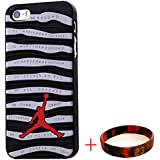 EHIPI Shoes Showcase Jordan iPhone 5S CASE,Michael Air Jordan Apple Iphone 5S Case Cover 3d Sneaker Sole Rubber,Rubber Feels Looks like the Sneaker Sole Thin For Apple Iphone 5S Case (Black/Gray)