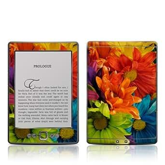 Decalgirl Colours - Skin para Kindle diseño flores de colores