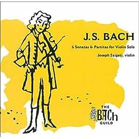 Partita pour violon seul n� 2 en r� mineur, BWV 1004: Gigue