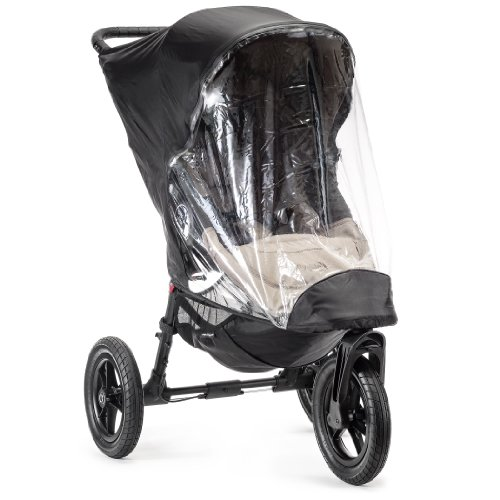 Baby Jogger City Elite Single Stroller Rain Canopy - 1