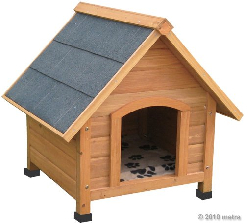 Hundehtte-Hundehaus-Massiv-Holz-spitzdach