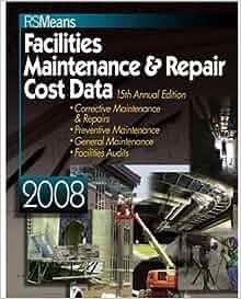 Facilities Maintenance Repair Cost Data Melville J