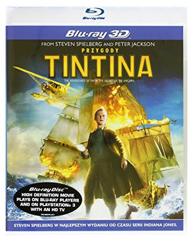 The Adventures of Tintin: The Secret of the Unicorn [Blu-Ray]+[Blu-Ray 3D] [Region B] (IMPORT) (Nessuna versione italiana)