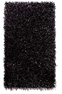 Badteppich Schwarz Langflor Vegas Batex, Größe70x120   Kundenbewertung und Beschreibung
