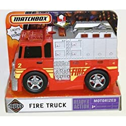 Matchbox Real Action Motorized FIRE TRUCK