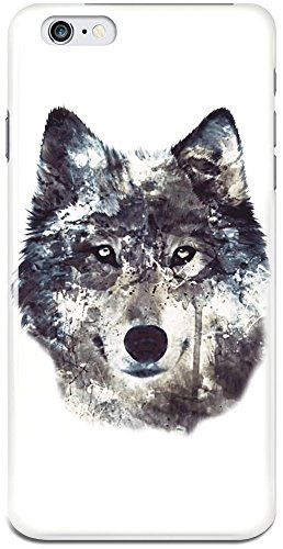 wolf-illustration-iphone-6-plus-case-cover-custom-printed-hard-plastic-case-keep-your-valuable-iphon