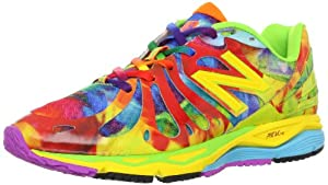 New Balance Women's W890 Alpha Running Shoe,Yellow Multi,8.5 B US