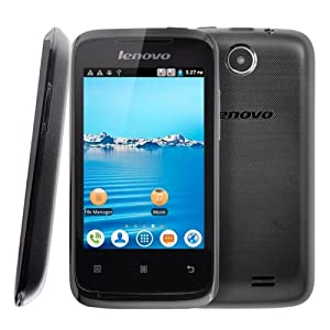 NEW Lenovo 3.5 inch Android Smart Phone with Dual Core Processor, Sim Free, Dual Sim, WiFi, Camera, Play store