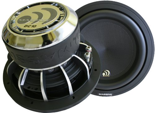 "Massive Audio Dc 12 - 1,200 Watt 12"" Subwoofer"