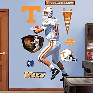 NCAA Tennessee Volunteers Peyton Manning Wall Graphic by Fathead