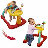 Kolcraft Tiny Steps 2 in 1 Walker, Circles