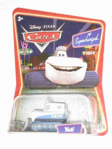 Yeti The Abominable Snowplow Disney Pixar Cars 1:55 Scale Car Supercharged Edition Background Card