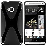 """mumbi X-TPU Schutzh�lle HTC One H�lle schwarz (NICHT HTC One M8)von """"mumbi"""""""