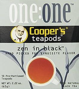 Cooper's Zen In Black 18-Count Tea Pods, 2.22 Ounce Box
