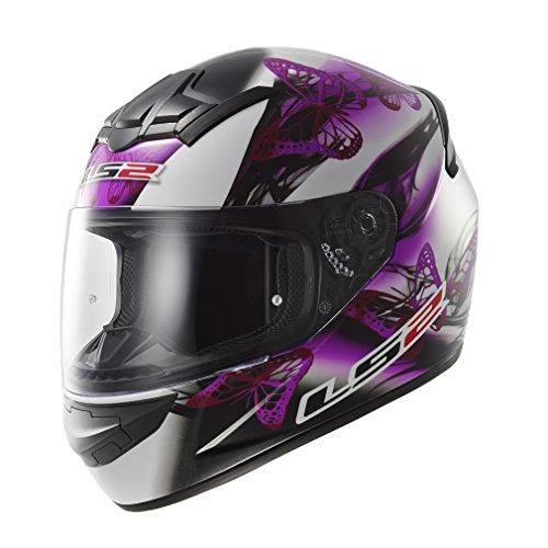 LS2-FF351-Casco-integral-de-mujer-para-motocicleta-diseo-ondulante-de-color-rosado-y-violeta