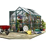 Easy Grow 6' x 8' Greenhouse in Clear