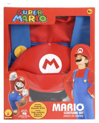 Super Mario Brothers Child's Costume Box Set