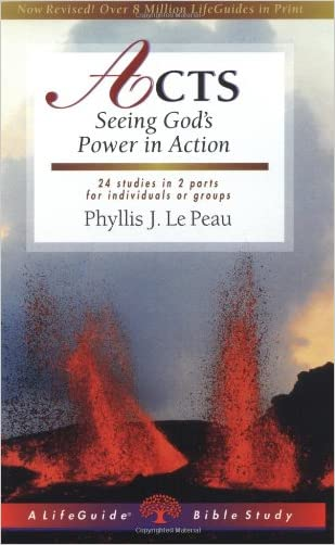 Acts: Seeing God's Power in Action (Lifeguide Bible Studies)