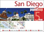 San Diego PopOut Map - handy, pocket...