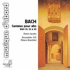 J.S. Bach: Cantatas for Solo Alto